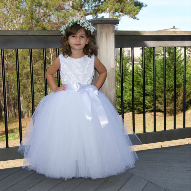 Puffy Flower Girl Dresses For Toddlers,First Communion Dresses For ...
